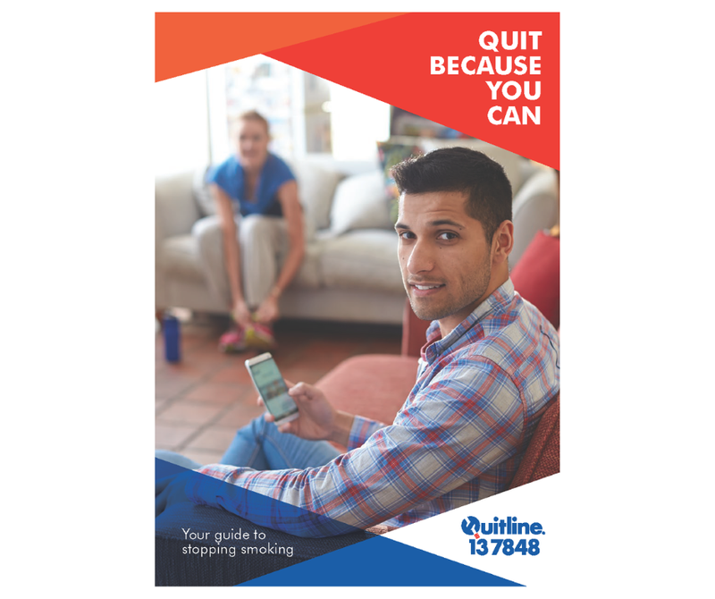 Quit because you can booklet cover