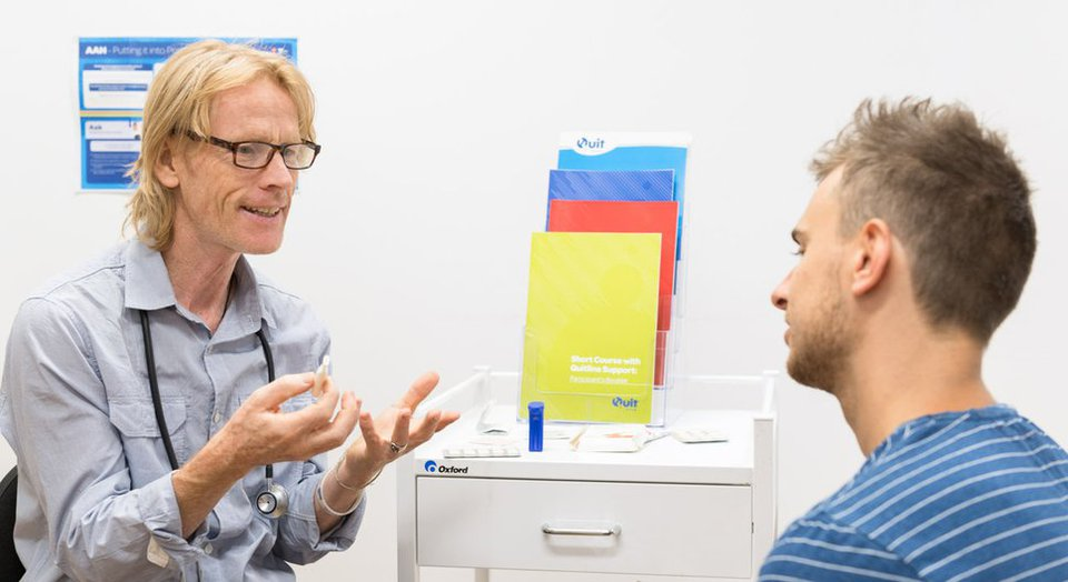 Health professionals can support patients to stop smoking