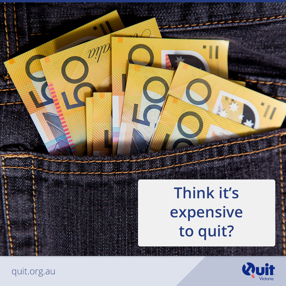 Expensive to quit